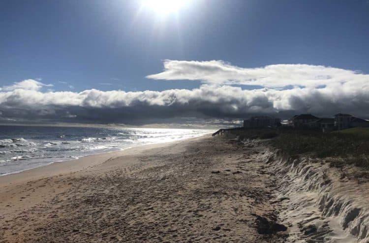 Florida A1A: Empty beach in Flagler Beach along beautiful A1A. (Photo: Bonnie Gross)