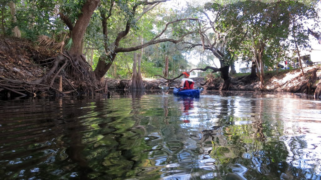 Things to do in Naples Florida: Kayak the Imperial River for a trip through Old Florida. (Photo: Bonnie Gross)