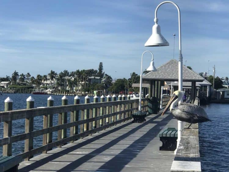 Anna Maria Island: Things to do include strolling on the free and scenic fishing pier at the end of Bridge Street. (Photo: Bonnie Gross)
