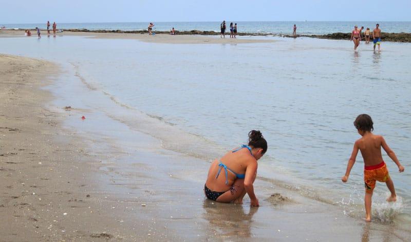 Bathtub Beach on Hutchinson Island.