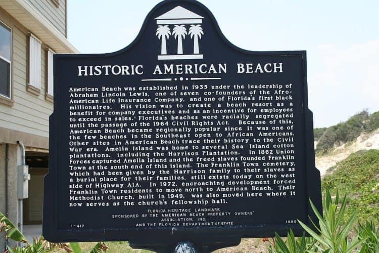 florida black history american beach