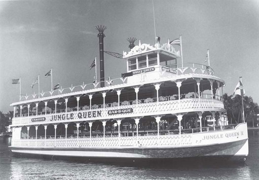 The Jungle Queen has been cruising Fort Lauderdale for more than 50 years. (Photo courtesy Yachting Magazine.)