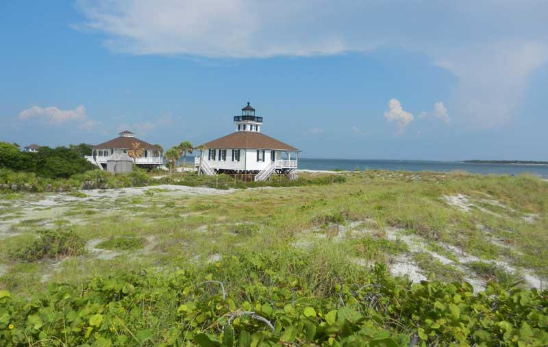 boca grande lighthouse Boca Grande: Old Florida island on the Gulf is worth the trip & toll