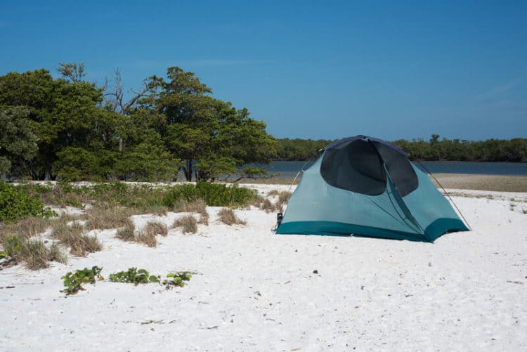 tiger key camping