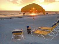 beaches near orlando and disney world: clearwater beach