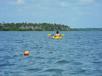 Paddling Indian River Lagoon from Eldora