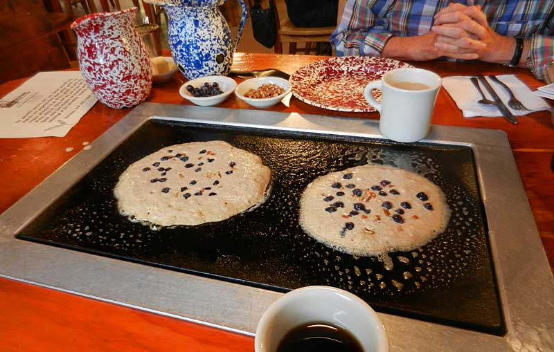 De Leon Springs State Park: Pancakes at Old Sugar Mill
