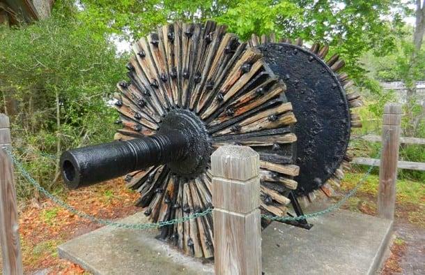 Ponce De Leon Springs State Park: Original wheel for old sugar mill