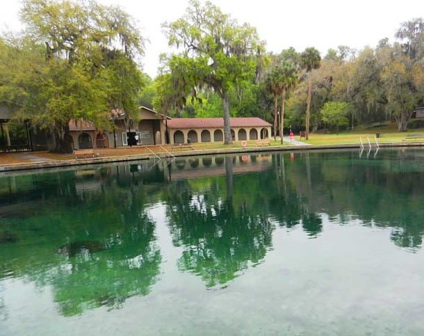 Ponce De Leon Springs State Park: The spring and swimming area
