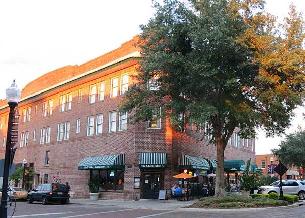 The Historic Edgewater Hotel in downtown Winter Garden.