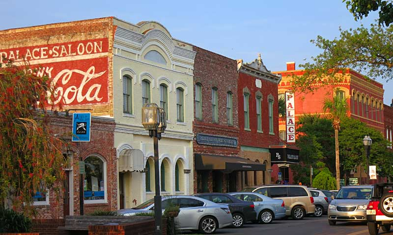 One of the most picturesque Old Florida towns: Historic Fernandina Beach on Amelia Island.