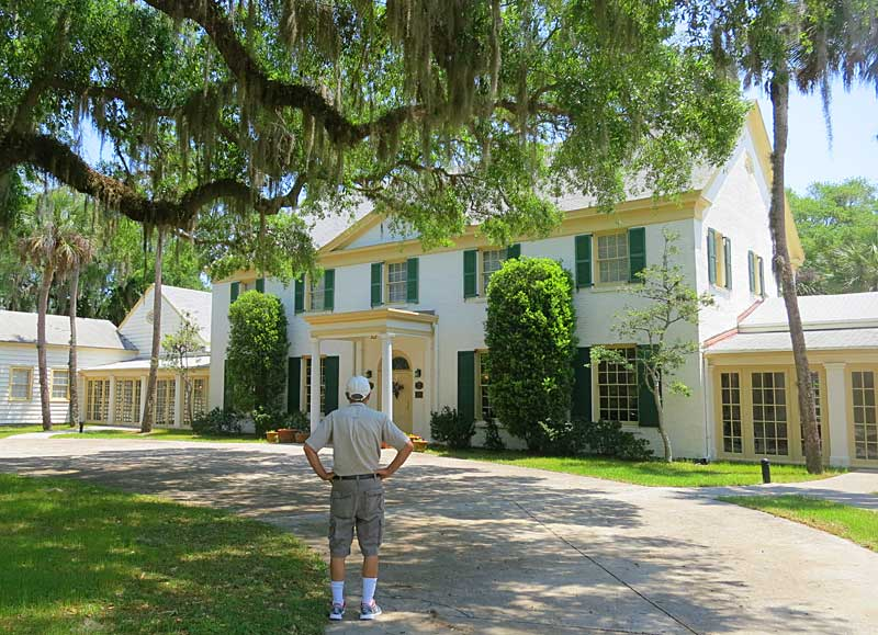Among things to do in Amelia Island is visiting one of the eight state parks in the region. This is the 1928 Ribault Club, now a museum and special-event site. It was a resort for rich Northerners.