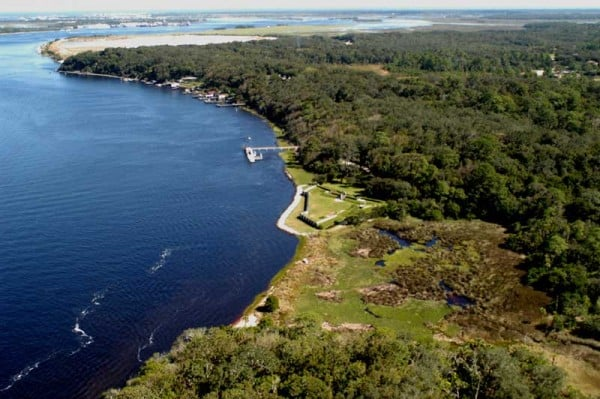 The National Park Service has recreated Fort Caroline at a third scale on the St. Johns River.