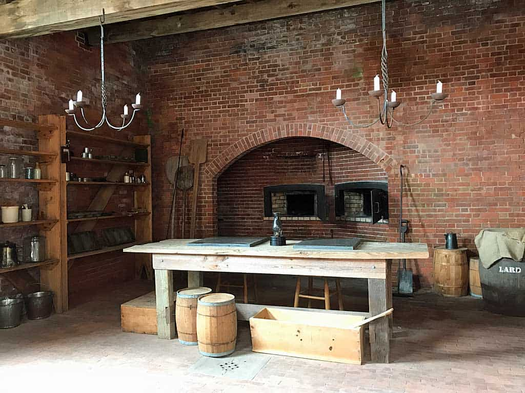 fort clinch kitchen at fort clinch state park