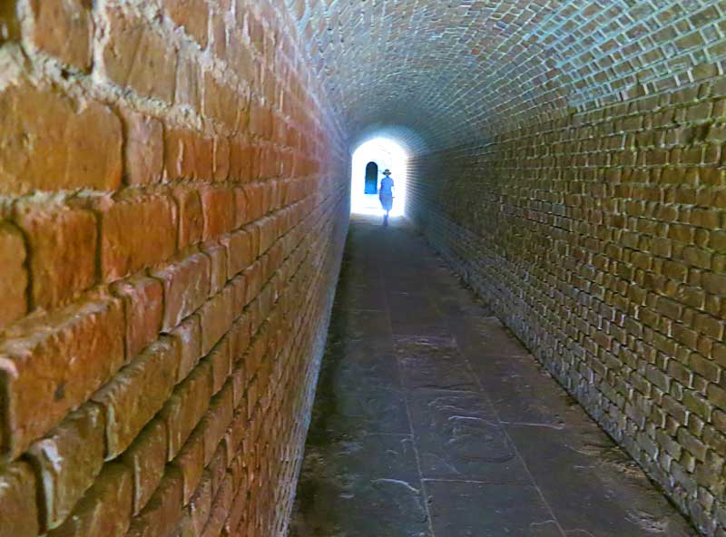 Fort Clinch State Park on Amelia Island holds a massive and well-preserved Civil War-era fort. (Photo: Bonnie Gross)
