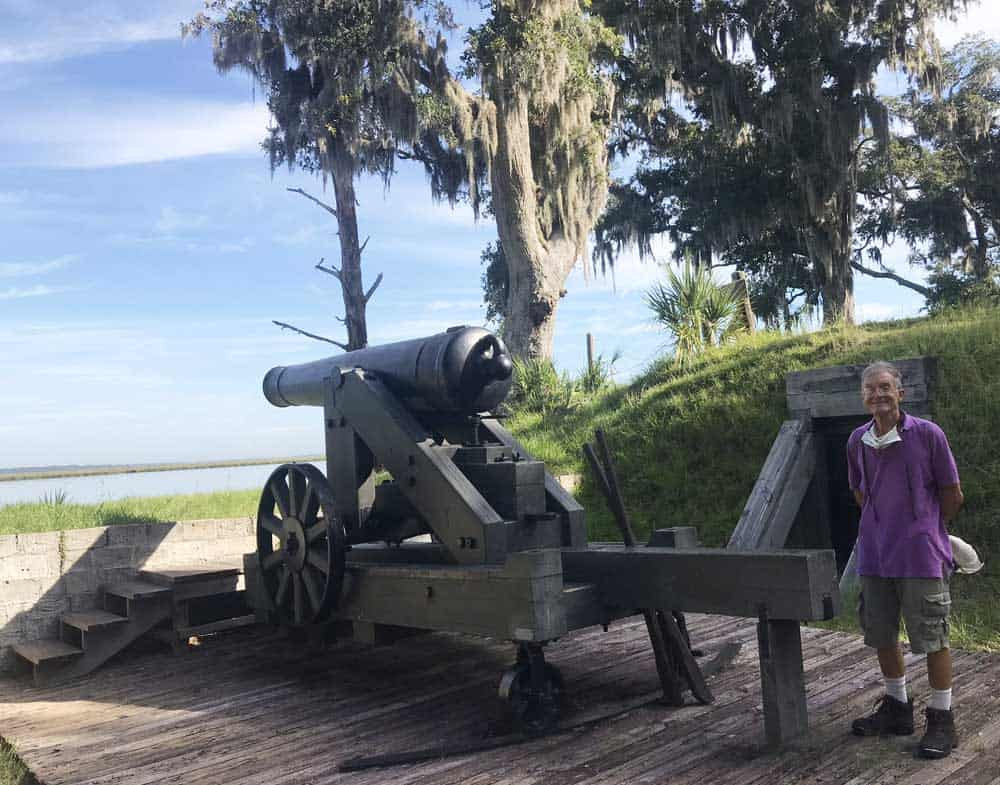 fort mcallister cannon 1 Road trip tip: Georgia State Park cabins are ideal stops