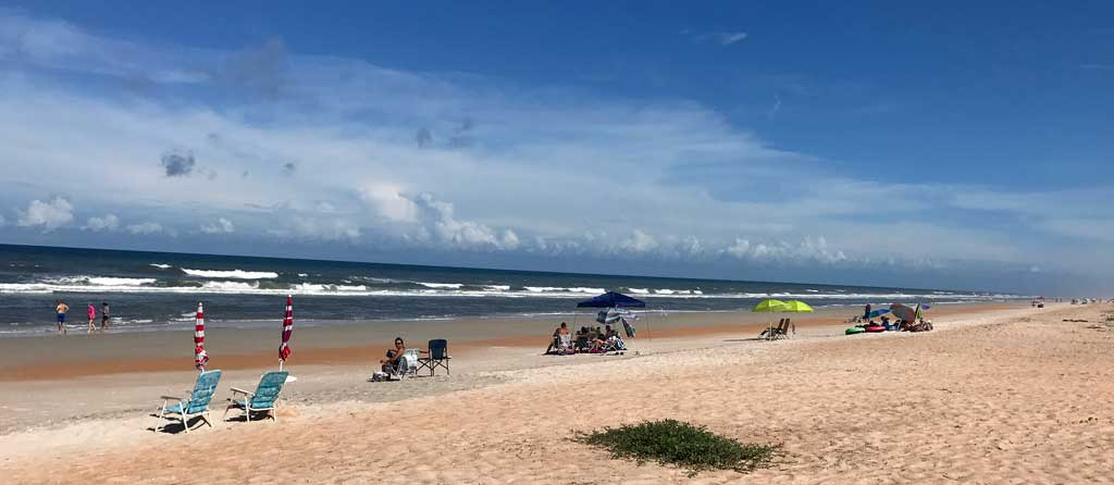 gamble rogers state park beach