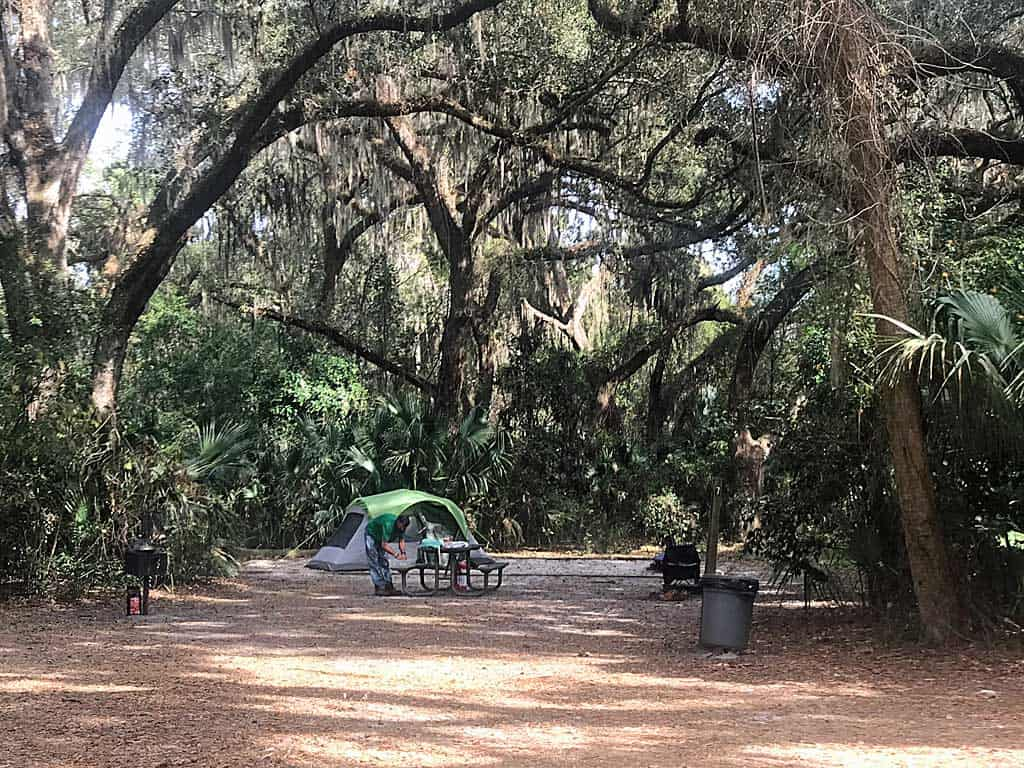 gemini springs campground
