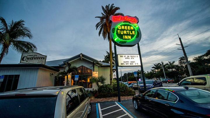 Florida Keys restaurants: green turtle inn florida keys road food