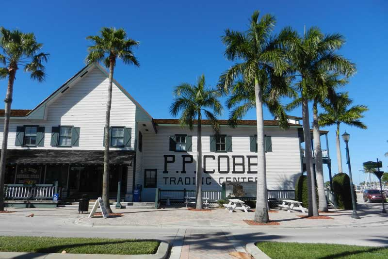 historic building fort pierce, scenic drivealong the Indian River Lagoon