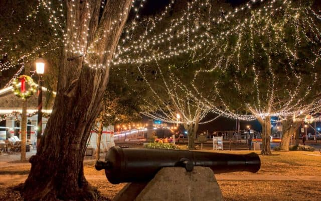 holiday cannonStAug Where to celebrate the holidays in Old Florida: Best Christmas light displays