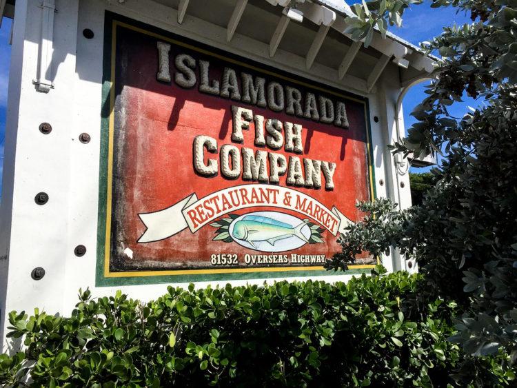 Florida Keys restaurants: islamorada fish company florida keys road food