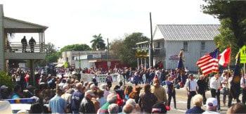 Swamp Cabbage Festival Parade