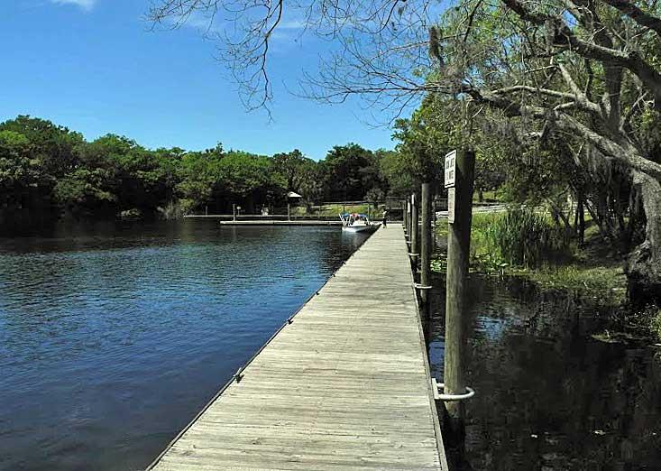Lake Monroe Park Volusia County