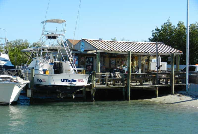 Little Jim Bridge Bait & Tackle in Fort Pierce, scenic drive along the Indian River Lagoon