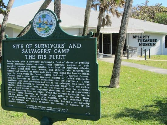 mclarty treasure museum Two top campgrounds, pristine beaches, surfing, kayak the lagoon and fab fishing at Sebastian Inlet