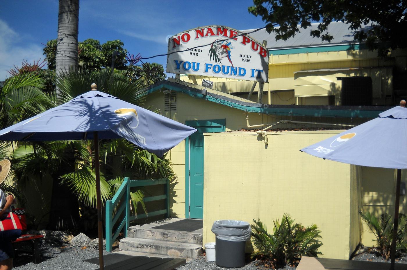 No Name Pub on Big Pine Key exterior
