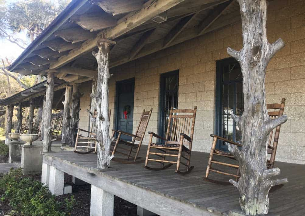 Free things to do in Florida: the lodge at Princess Place Preserve in Flagler Beach. (Photo: Bonnie Gross)
