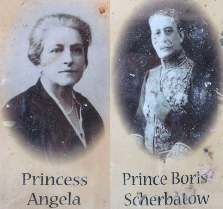 Princess Place: There really was a princess (left) and a prince (right) who lived a the lodge in what is now Princess Place Preserve in Flagler County.