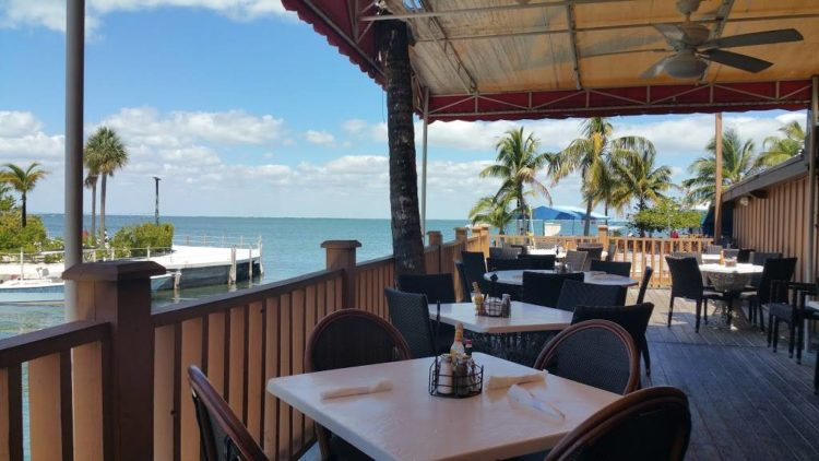 Florida Keys restaurants: Bet you didn't expect this view from a classic Mexican restaurant.