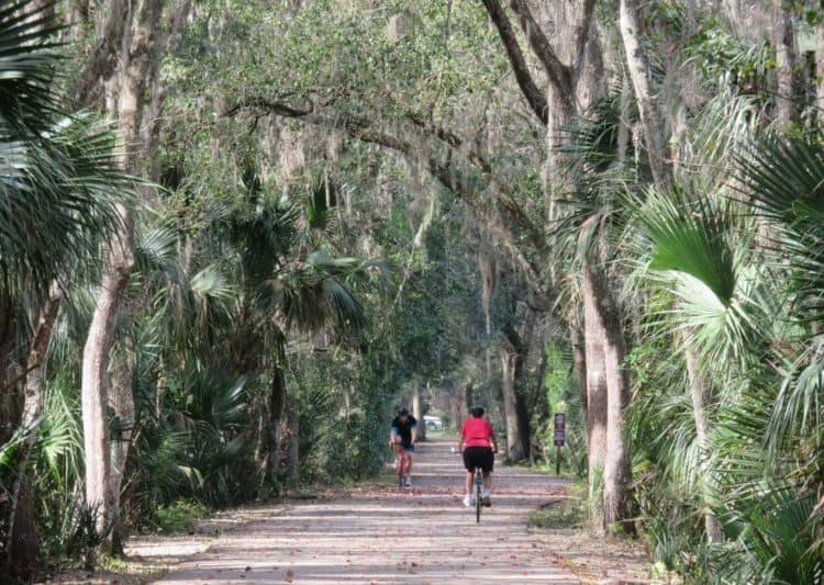 he East Central Regional Rail Trail flows into the Spring-to-Spring Trail at Green Spring and it contains some of the most scenic sections of trail. (Photo: David Blasco)