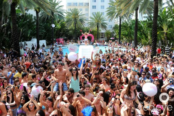 Spring Break on Miami Beach
