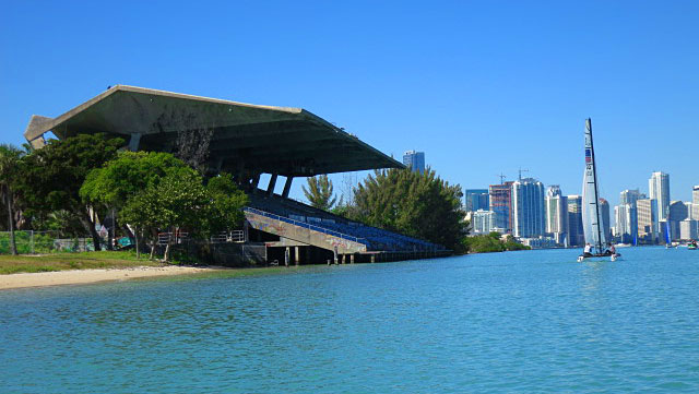 Miami Marine Stadium, Virginia Key