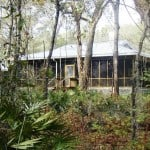 Camping cabin at Stephen Foster Cultural Center State Park
