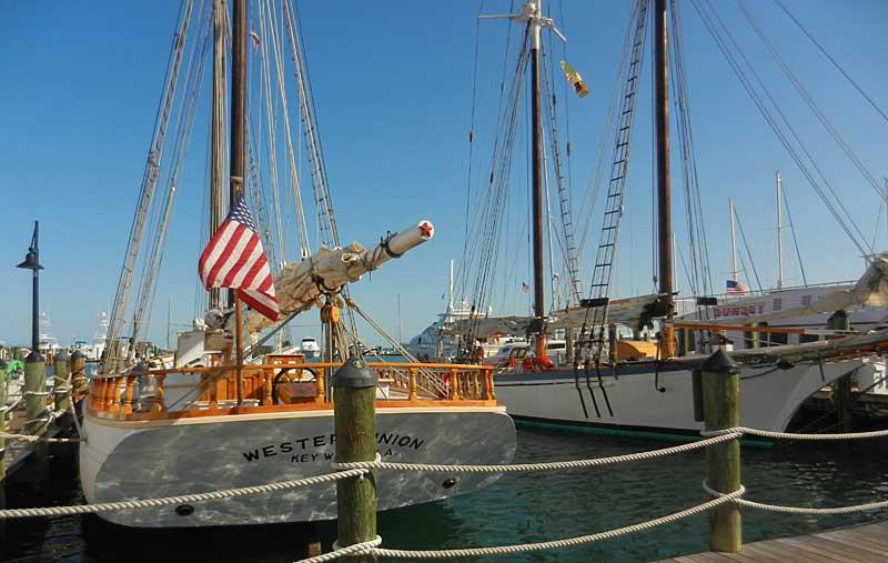 western union schooners Key West Seaport: One of the best scenic walks in Key West