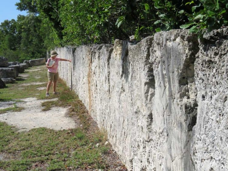 Windley Key Fossil Reef State Park: Stone thast is actually an ancient fossilized coral reef was quarried here to build Henry Flagler's railroad to Key West. (Photo: David Blasco)