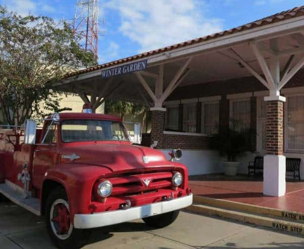 The Winter Garden Heritage Museum, a free downtown museum, has an old fire truck, a tractor and caboose and exhibits on citrus and Lake Apopka.